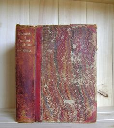 Antique Medical Book by Henry Hartshorne 1874 by CrookedHouseBooks