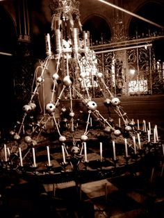 France Cathedral chandelier
