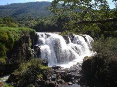 MINAS GERAIS (Southeast, capital Belo Horizonte) - Poços de Caldas. Waterfalls. Photo by Analu.zinha