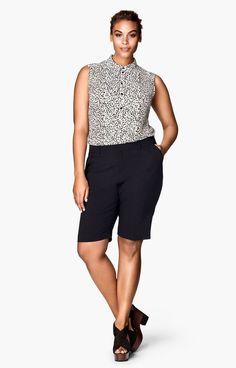 bermuda shorts plain