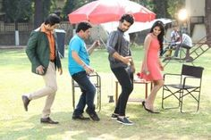 Arjun Kapoor shakes a leg with the cast of Woh Teri Bhabhi Hai Pagle! Arjun Kapoor was recently seen on the sets of SAB TV's Woh Teri Bhabhi Hai Pagle to promote his upcoming movie KI and Ka. The actor had a good time on the set and was seen mingling with the lead star cast- Ali Asgar, Ather Habib and Krishna Gokani and the crew. Read More: http://www.cityairnews.com/content/arjun-kapoor-shakes-leg-cast-woh-teri-bhabhi-hai-pagle