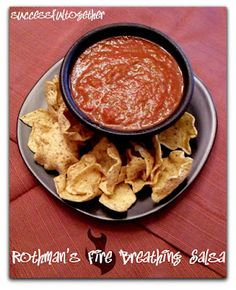 Secret Recipe Club: Rothman's Fire Breathing Salsa