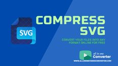All in One Video Converted provides an all-in-one solution for those who want their files to provide high quality in their SVG format files by efficiently compressing the files to remove the unnecessary data out of it. Online Converter, First Video, All In One, Ebooks, How To Remove, Blog, Free, Blogging