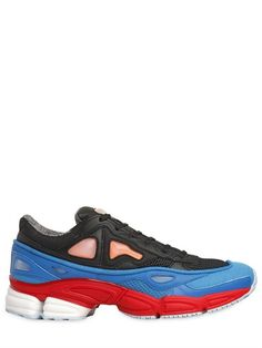 ADIDAS BY RAF SIMONS - OZWEEGO 2 NYLON RUNNING SNEAKERS - LUISAVIAROMA - LUXURY SHOPPING WORLDWIDE SHIPPING - FLORENCE