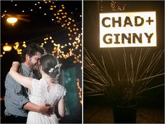 personalized wedding sign with fireworks