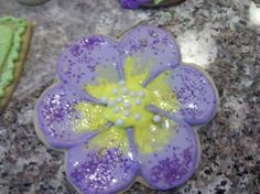 Pansy cookie