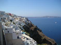Santorini tiene un color especial