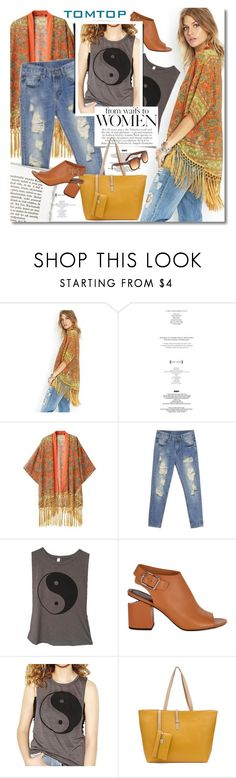 """""""Spring Look by TomTop"""" by gorgeautiful ❤ liked on Polyvore featuring Alexander Wang, vintage, tomtop and tomtopstyle"""