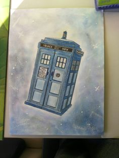 Painting ideas for boyfriend canvases dr. who 50 new Ideas Tardis Drawing, Tardis Painting, Diy Painting, Doctor Who Drawings, Doctor Who Tattoos, Doctor Who Fan Art, Doctor Who Tardis, Boyfriend Canvas, Frames