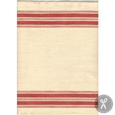 Toweling Panier De Fleur- Oyster Scarlet