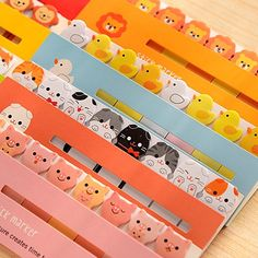 New fashion kawaii korean stationery 1lot=20pcs Cute animals post it notes cartoon student memo pad N stickers school supplies-in Memo Pads from Office & School Supplies on Aliexpress.com | Alibaba Group