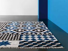 Rectangular wool rug PALERMO by GAN By Gandia Blasco design Sandra Figuerola