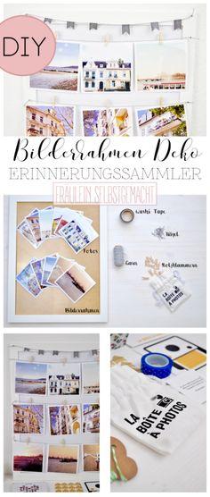 BILDERRAHMEN PINNWAND SELBER MACHEN (Werbung)