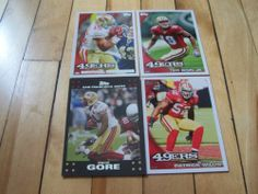 #MichaelCrabtree #PatrickWillis #FrankGore Ted Ginn Jr #SanFrancisco49ers Lot | #eBay #footballcards #NFL #49ers #NFCWest