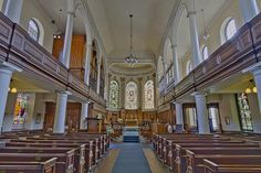 Here is a photograph taken from St Ann's Church. Located in Manchester, Greater Manchester, England, UK. tags: st anns church interior inside manchester england uk