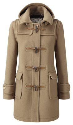Womens London Duffle Coat -- Camel