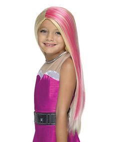 Look at this #zulilyfind! Barbie Super Sparkle Wig by Barbie #zulilyfinds