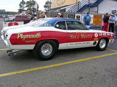 Sox & Martin 1973 Plymouth Duster by osubuckialum, via Flickr
