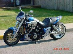 Custom Yamaha Vmax motorcycle
