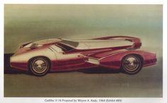 Cadillac V16 Dream Car by Wayne Kady 1964