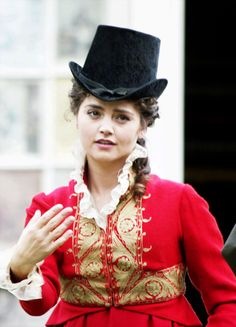 Jenna Coleman in 'Death Comes to Pemberley' (2013).