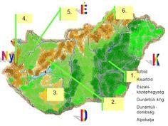 Nk: A Dunántúli- középhegység tanulást segítő diafilm Green Day, Geography, Science, Learning, School, Youtube, Petra, Ariel, Nature