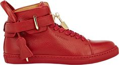 Buscemi 100MM Sneakers-Red - $890.00