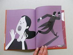 Illustrations by Afonso Cruz, in Capital, Pato Lógico Editora, Portugal. Picture book without text. in stock £12.2