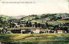 Elm Grove West Virginia WV 1908 Poor House Collectible Antique Vintage Postcard