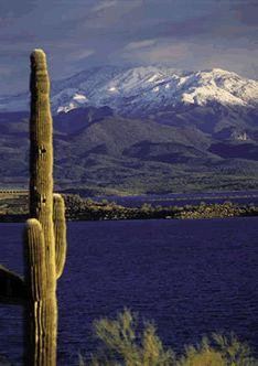 Lake Pleasant in Peoria, Arizona.