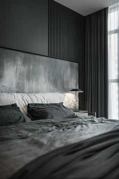 30 French Country Bedroom Design and Decor Ideas for a Unique and Relaxing Space - The Trending House Country Bedroom Design, Modern Bedroom Design, Master Bedroom Design, Home Bedroom, Bedroom Decor, Bedroom Ideas, Black Interior Design, Modern Interior, Deco Cool