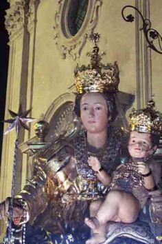 Madonna della Stella a Militello Val di Catania-SICILIA