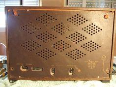 """Marconi M 49 """"Antique radio"""", """"Tube radio"""" Antique Radio, Marshall Speaker, Tv, Antiques, Antiquities, Antique, Television Set, Old Stuff, Television"""