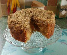 My apple crumble cake :)