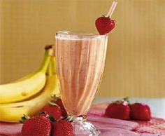 IBS Low FODMAP Recipes - Strawberry Banana Smoothie