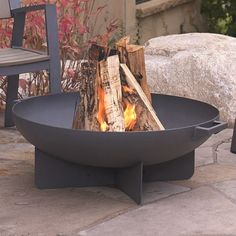Found it at AllModern - Anson Wood Fire Pit $336