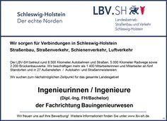 Stellenbezeichnung: Ingenieurinnen / Ingenieure (Dipl.-Ing. FH/Bachelor) der Fachrichtung Bauwesen  Arbeitsort: 24106 Kiel Schleswig-Holstein, Deutschland  Weitere Informationen unter: http://stellencompass.de/anzeige/?id=139417