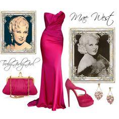 """""""Mae West"""" by trulygirlygirl on Polyvore"""