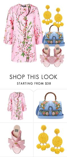 """""""BlossNOT"""" by didiiidia on Polyvore featuring Gucci, FAUSTO PUGLISI and Humble Chic"""
