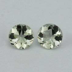 Description : GREEN AMETHYST PANTAGON ROUND WITH STAR CUT BACK (DES#43) 8MM Product Size : 8MM Grade : Approx weight per piece : 1.72 Cts...