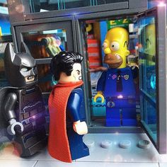 """""""No thanks I take care of the Joker and Lex Luthor myself!""""  by best.of.lego"""