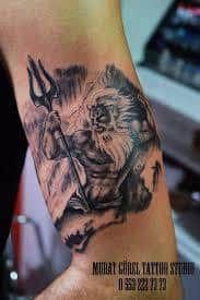 poseidon tattoo '' tattoo artist by Murat GÜREL '' manisa dövme Mais Poseidon Tattoo, Tattoos With Meaning, I Tattoo, Tattoo Artists, Design, Ideas, Meaning Tattoos, Symbolic Tattoos