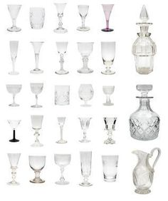 antique etched crystal stemware | Always use soft cloths to dry your crystal.