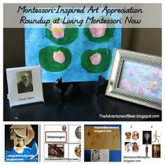 Montessori education has wonderful ideas and resources for helping children develop an appreciation of art from the earliest age.