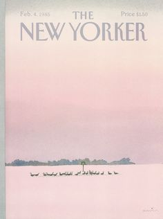 The New Yorker - Monday, February 4, 1985 - Issue # 3129 - Vol. 60 - N° 51 - Cover by : Susan Davis