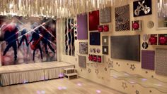 kids party rooms | Holden Hill Party venue: Disco / rockstar party room