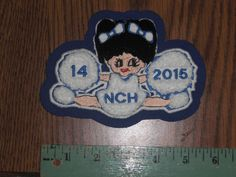 Cheerleader Chenille Patch for Varsity Cheerleader Jacket Large New Old Stock | eBay