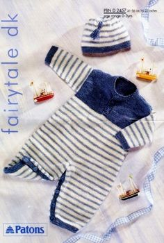 Retro Patons Baby's Knitting Patterns - PDFs - £1.45 No Postage