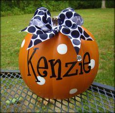Happy pumpkin.