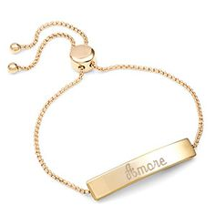 Gold Adjule Personalized Bracelets For The Las Jewelry Womensfashion